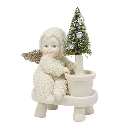 Department 56 Snowbabies Dream Collection Planting Hope Figurine, 4.5 inch