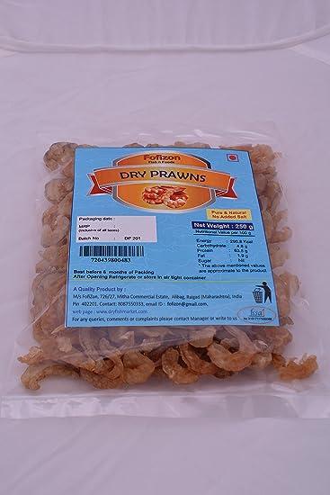 Fofizon Dry Seafood Dry Prawns - 250 Grams