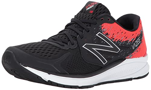 Nero 45.5 EU NEW BALANCE VAZEE PRISM V2 SCARPE RUNNING UOMO BLACK/ENERGY RED