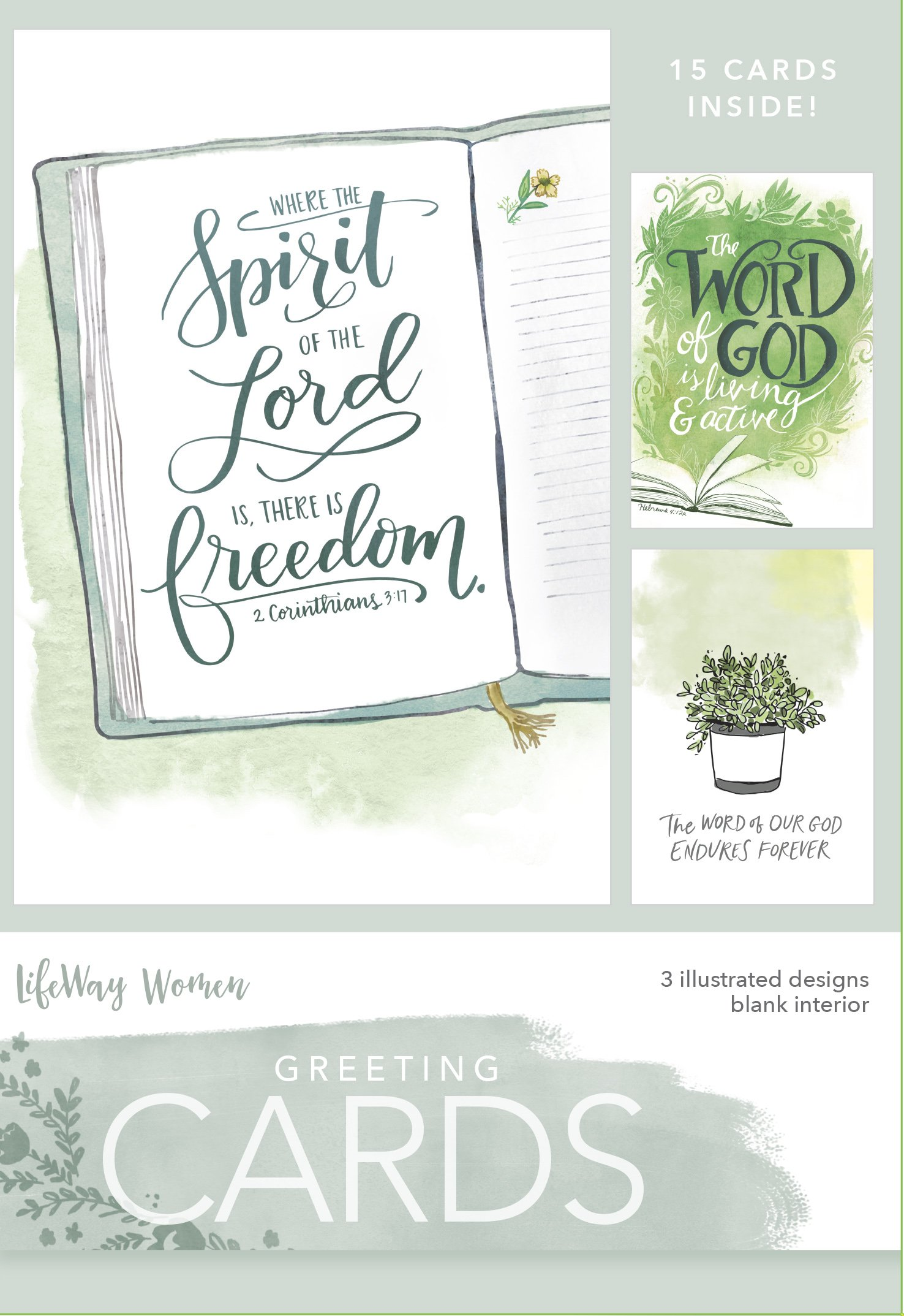 Boxed Greeting Cards- Spirit of the Lord ebook