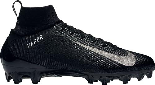 best cheap 9bd85 17fe1 Nike Men s Vapor Untouchable 3 Pro Football Cleats - Black White, 10 D(