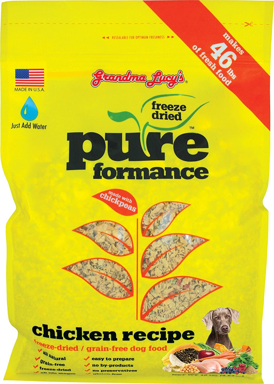 Grandma Lucy's PUREformance Freeze-Dried Dog Food