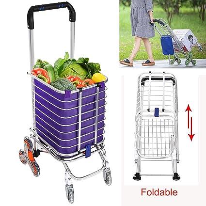 417cb3ce5e7d Amazon.com: (US Stock) Keland Portable Foldable Shopping Cart ...