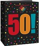 Large Birthday Cheer 50th Birthday Gift Bag