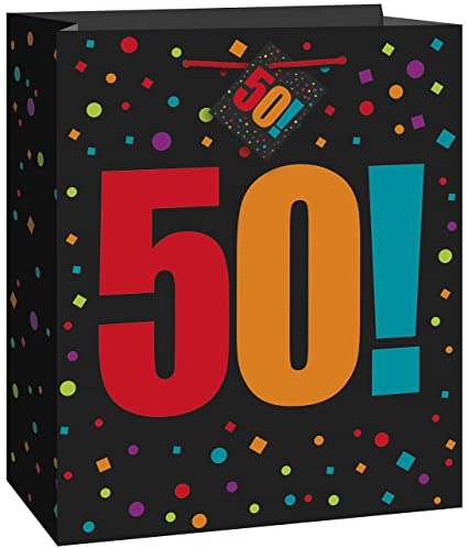 Amazon Large Birthday Cheer 50th Gift Bag Kitchen