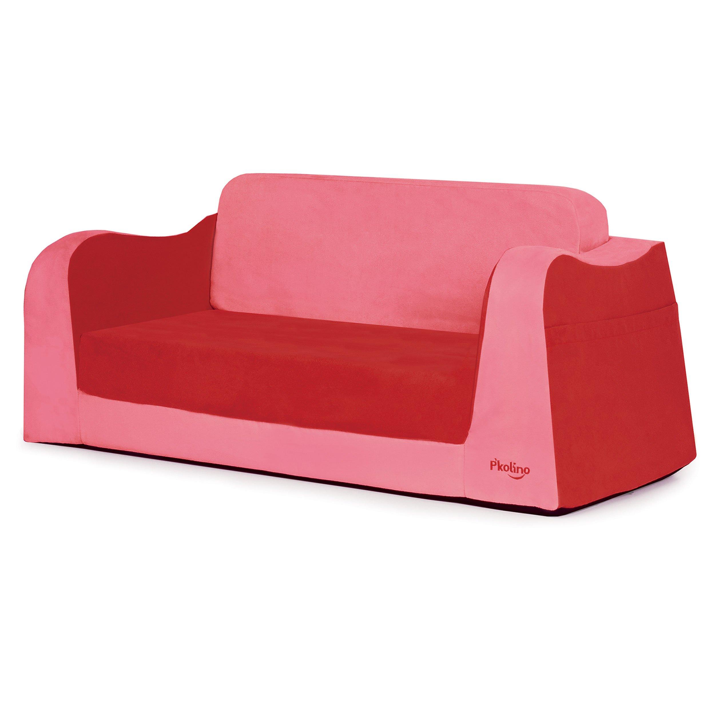 P'kolino Little Sofa / Sleeper - Red by P'Kolino