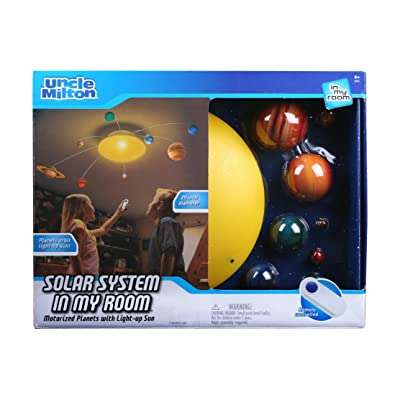 Solar System In My Room Remote Control Home Décor Night Light: Toys & Games