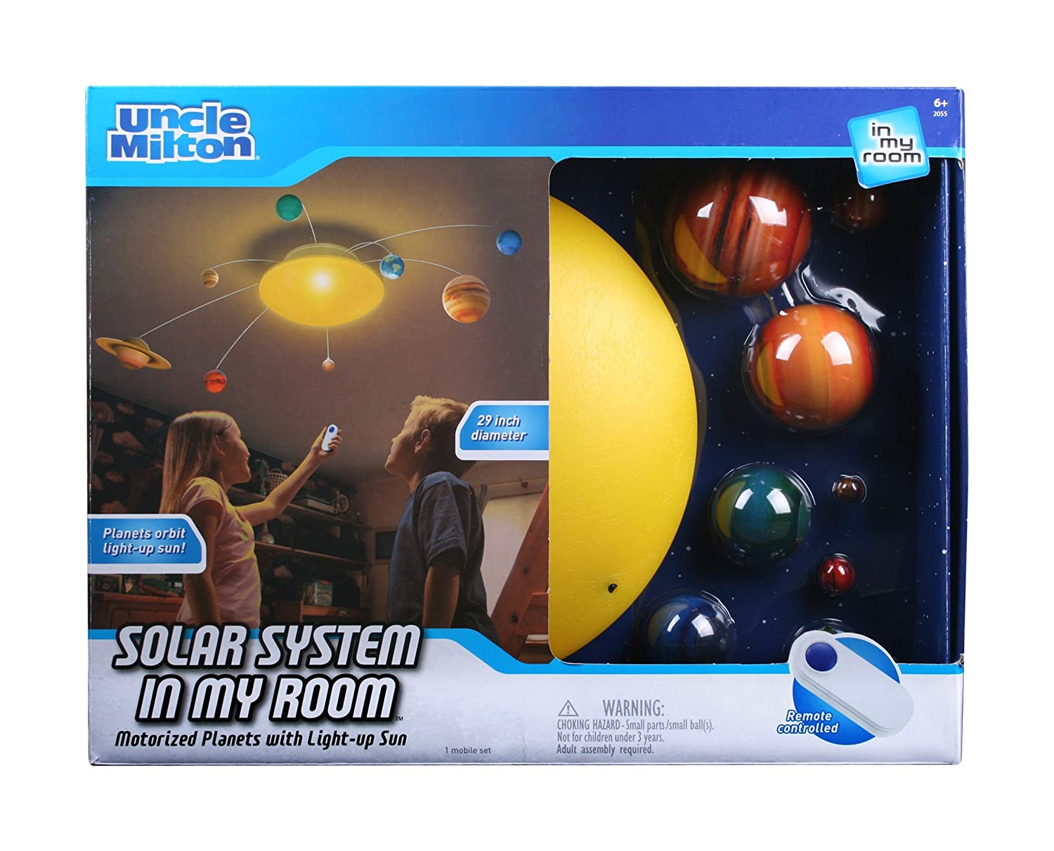 Amazon uncle milton solar system in my room remote control home amazon uncle milton solar system in my room remote control home dcor night light toys games aloadofball Gallery