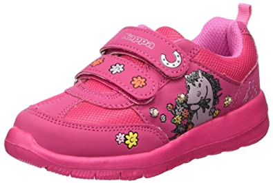 Kappa Mädchen Whinny Kids Low-Top, Pink (2222 Pink), 31 EU