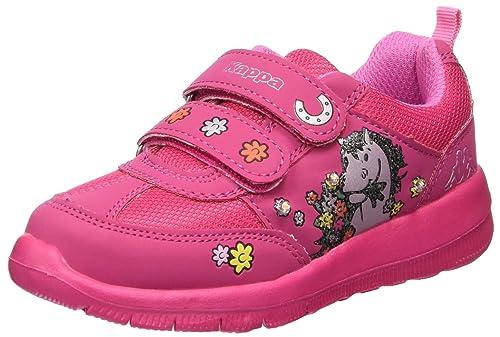 Kappa Whinny II, Scarpe da Ginnastica Basse Bambina, Rosa (Pink 2222), 34 EU
