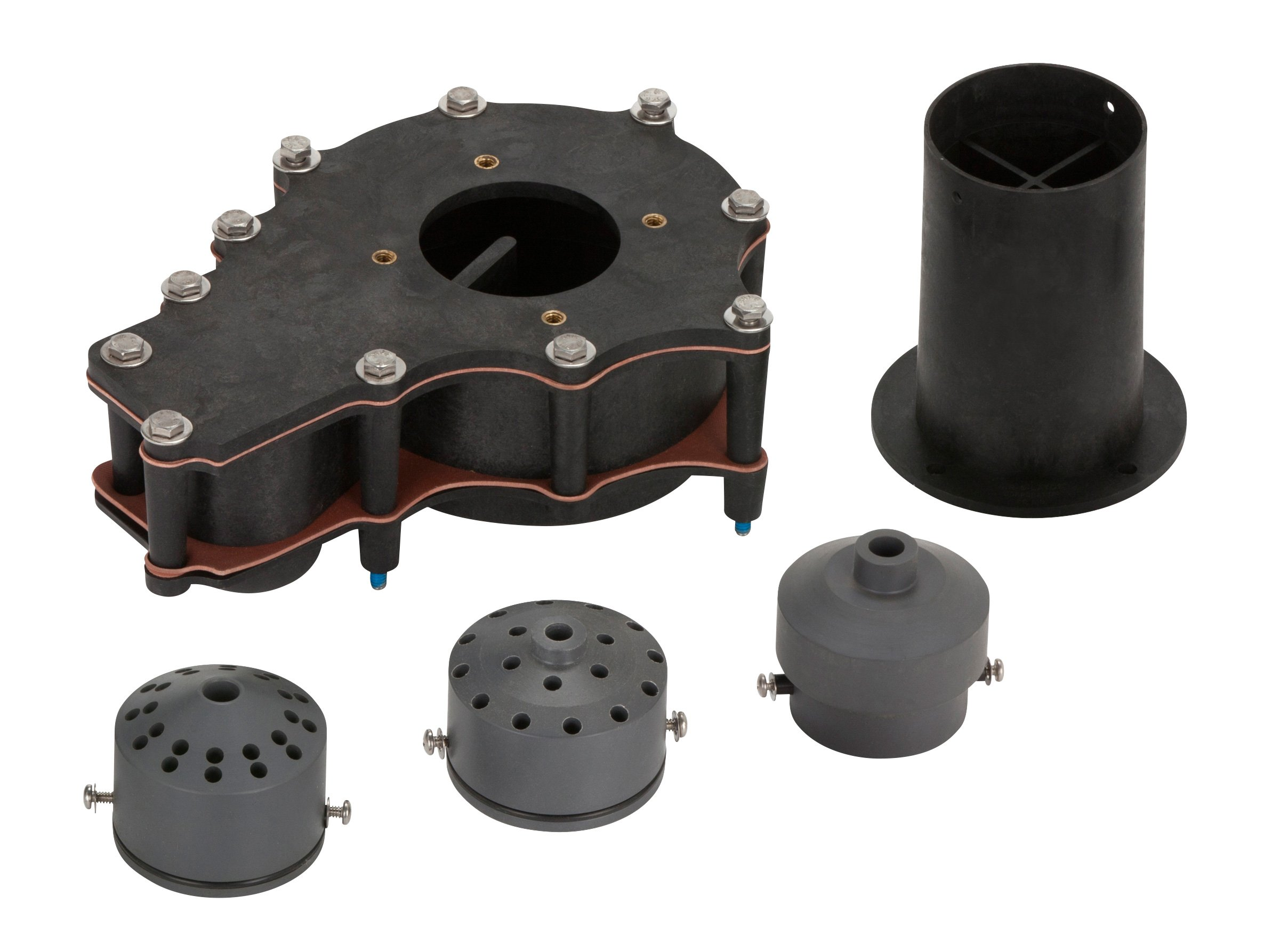 Little Giant FPH-05-K01 Floating Fountains with Three Nozzles Pond Aerator Conversion Kit