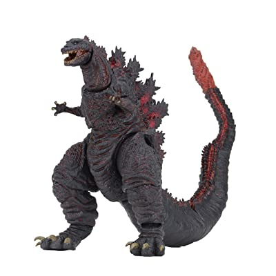 "NECA - Godzilla - 12"" Head-to-Tail Action Figure – Shin Godzilla (2016): Toys & Games"