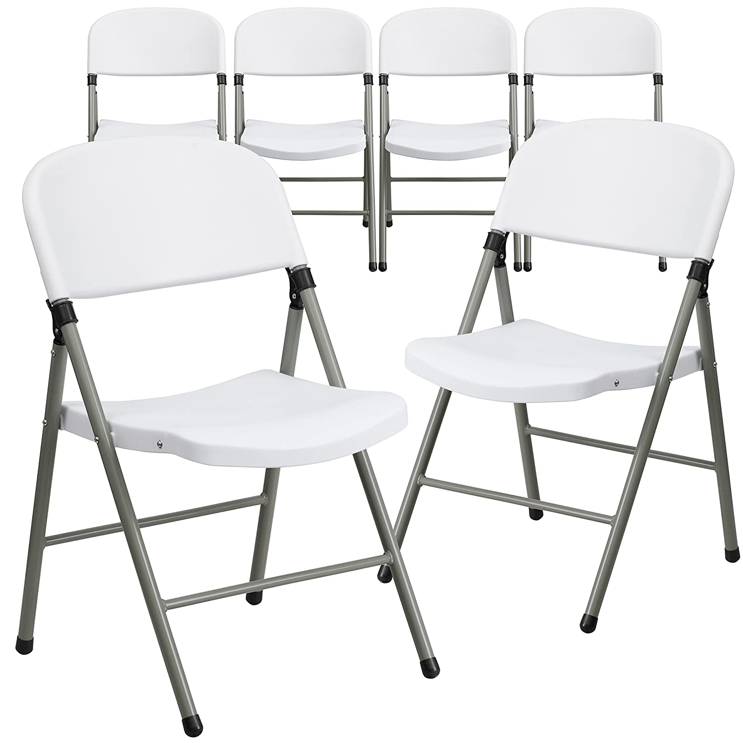 Amazon Flash Furniture HERCULES Series 330 lb Capacity White
