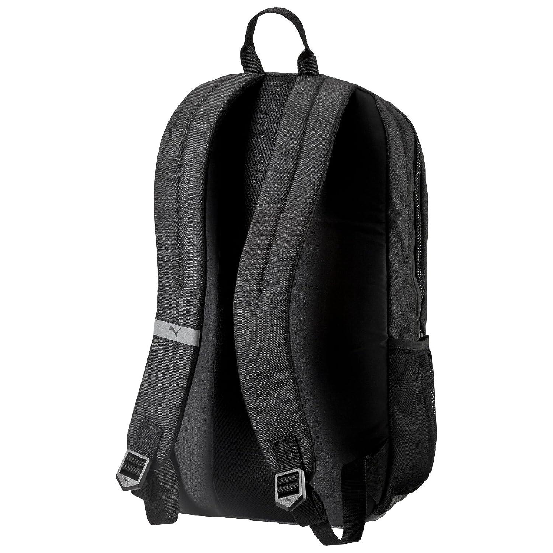 7843b8bca9f5 Puma Black Casual Backpack (7339301)  Amazon.in  Bags