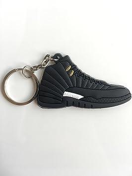 SneakerKeychainsNY Jordan Retro 12 The Master - Llavero de ...