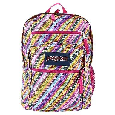Amazon.com: JanSport Big Student Backpack (Multi Texture Stripe ...