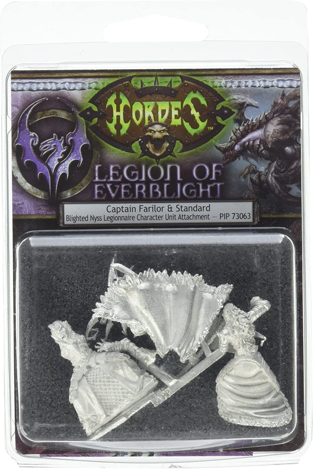 Privateer Press - Hordes - Legion: Captain Farilor and Standard Model Kit