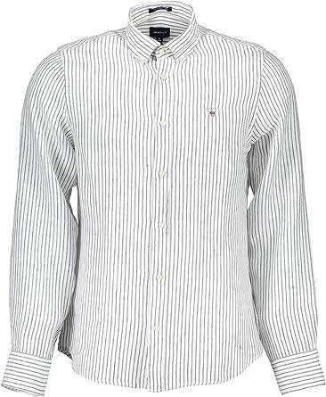 GANT 1901.3007222 - Camisa de manga larga para hombre: Amazon.es: Ropa y accesorios