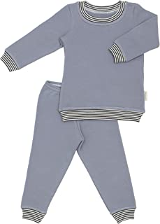 product image for CastleWare Baby: Organic Cotton Fleece Pajamas Sets - Tee and Pants 2-Piece Sleeper Pjs for Toddlers - 18 Months-4 Years