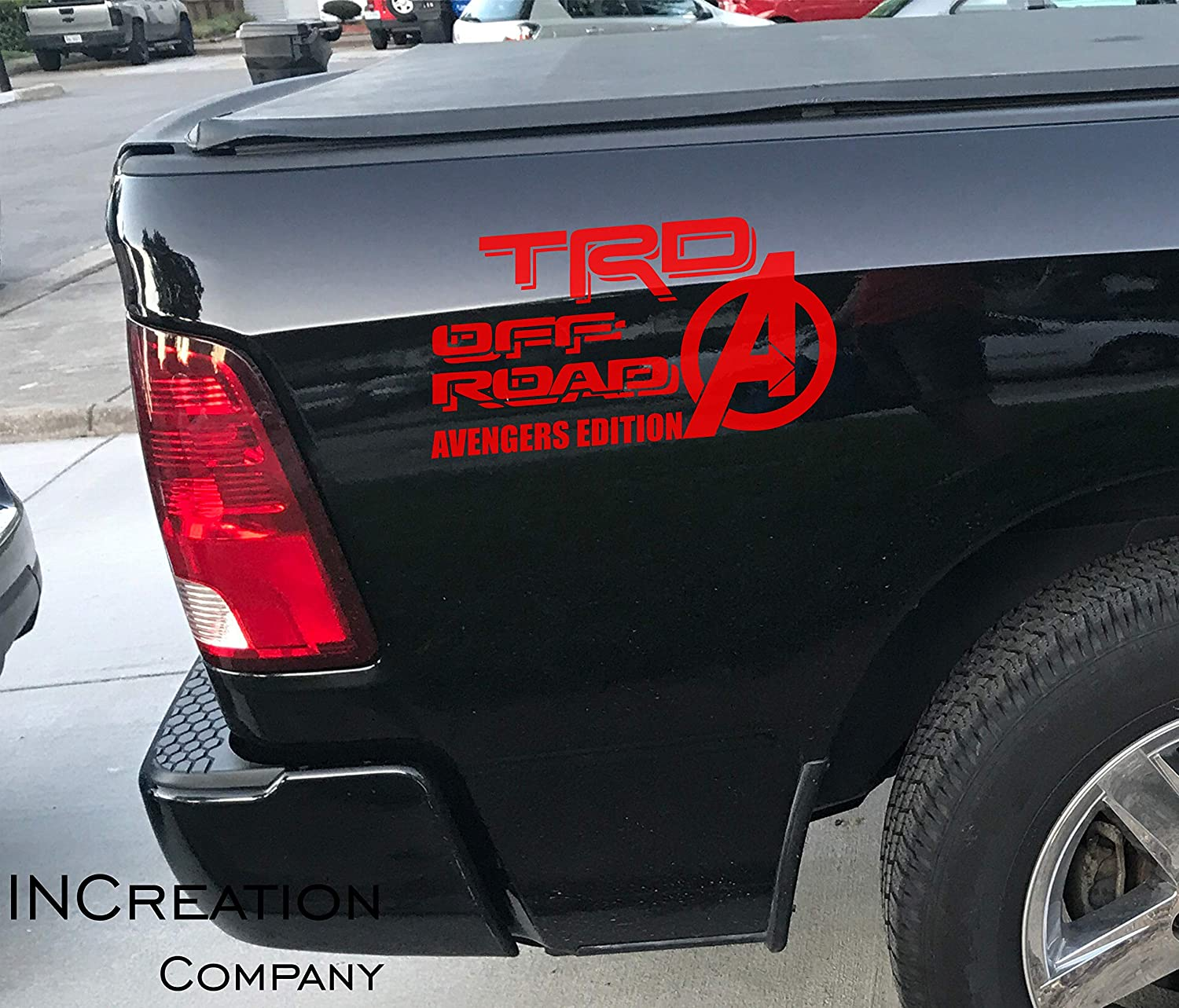2019 TRD SPORT vinyl decals for Toyota Tacoma Tundra 4Runner Set of 2