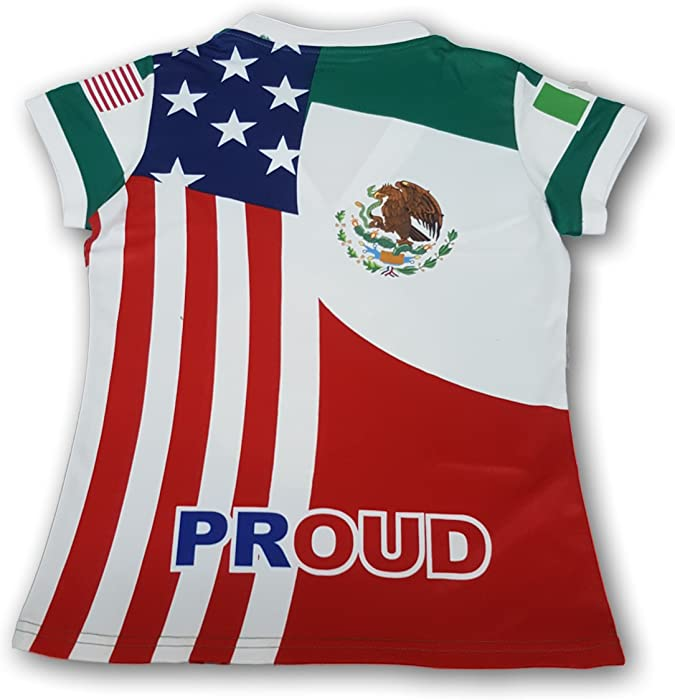 4b2fc0ee4 Amazon.com  ARZA New Mexico Women s Soccer Jersey USA Proud Shirt ...