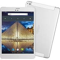 Tablet LTE 4G 3G SIM Karte Phablet - Winnovo M798 7.85 Zoll Unlocked Android Quad-Coret Tablet PC 16GB ROM + 1GB RAM 1024x768 IPS Bildschirm Doppelkamera 3600mAh Batterie WIFI Bluetooth GPS (Silber)