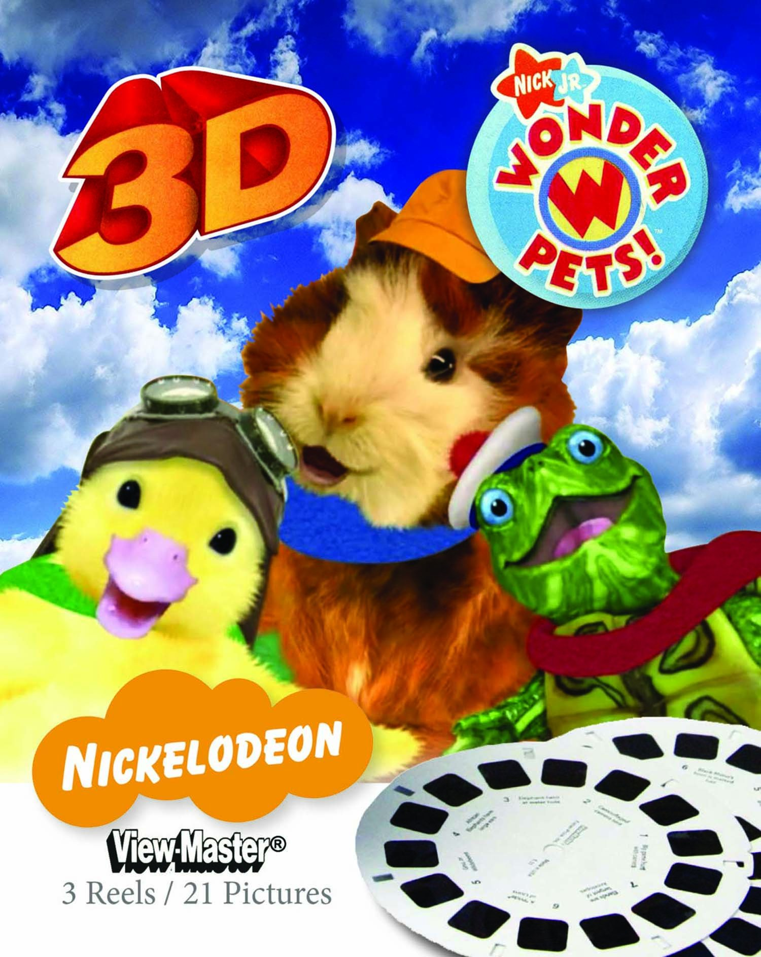 ViewMaster 3D Reels - Wonder Pets 3-pack set by View Master (Image #1)