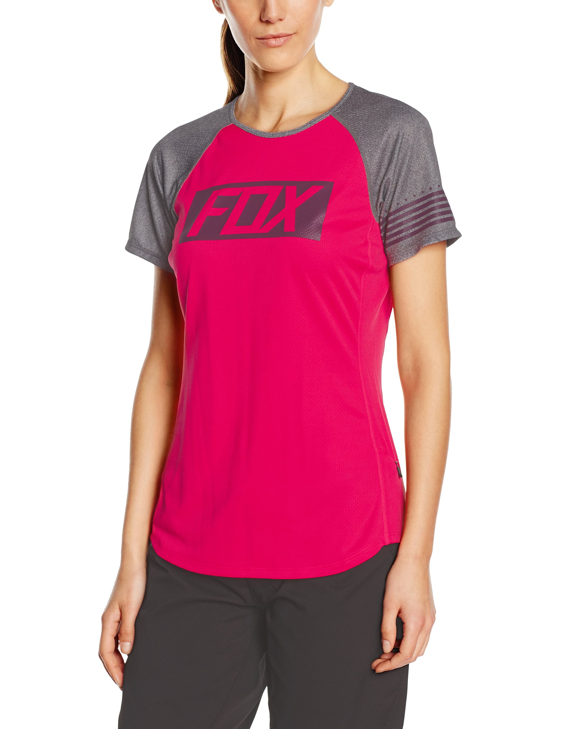 Fox Racing Ripley Jersey - Short-Sleeve - Women's Neo Red, L