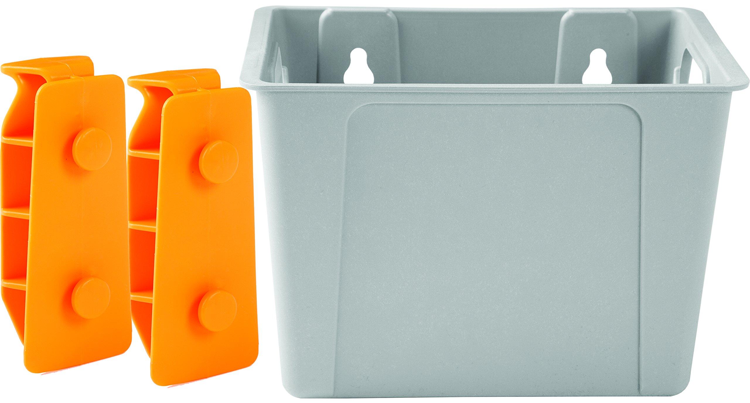 Lock & Roll Organizer Small Storage Bin