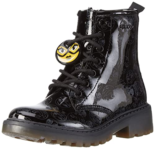 Geox J Casey Girl K, Botas Militar para Niñas: Amazon.es: Zapatos y complementos