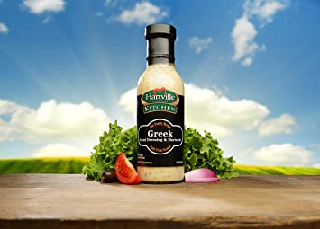 Amazon.com : Hartville Kitchen Greek Salad Dressing, 12 oz Bottle ...