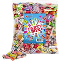 Assorted Candy Party Mix, Appx. 3 LB Bulk: Fire Balls, Airheads, Jawbusters, Laffy Taffys, Tootsie Rolls and Much More of Your Favorite Candy! (3 Lb. Bulk)