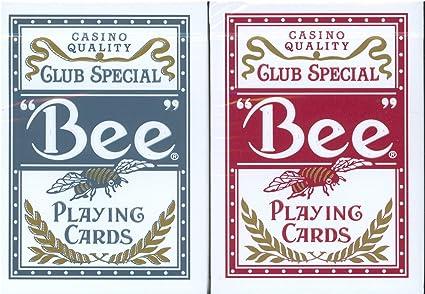 Amazon.com: Bee Titanium Juego de cartas Dos Deck Set – 1 ...