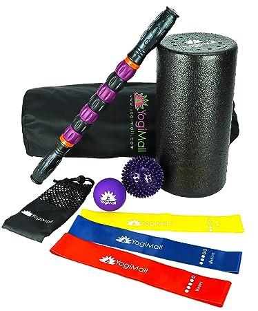 Amazon.com: YogiMall Kit de movilidad para masaje y fitness ...