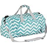 Mosiso Canvas Fabric Gym Bag Sports Duffels Athletic Sport Shoulder Bag