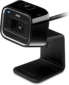 Microsoft LifeCam HD-5000 720p HD Webcam - Black