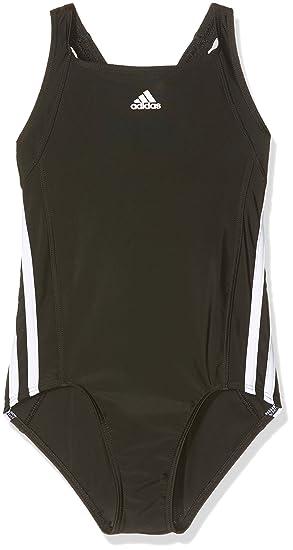 adidas Mädchen Essence Core Stripes Badeanzug