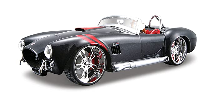 Amazon com: Maisto 1:24 Scale All Star Shelby Cobra 427