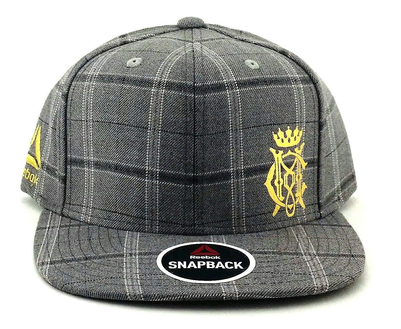 427894d6d807c9 Amazon.com : Reebok UFC New RBK MMA Gray Conor McGregor Plaid Fighter's Era  Snapback Hat Cap : Sports & Outdoors
