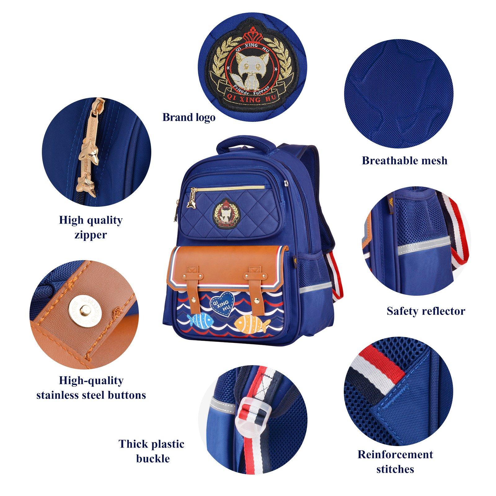 Boys Backpacks, Bageek Backpacks for School Backpack Kid School Bags for Boys Childrens Backpack by Bageek (Image #6)