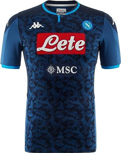Amazon Com Ssc Napoli Italian Serie A Mens Away Goalkeeper Match Shirt 2019 2020 Clothing