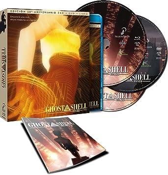 Ghost In The Shell - Cb, Libro [Blu-ray]: Amazon.es: Animación, Mamoru Oshii, Animación, Mitsuhisa Ishikawa: Cine y Series TV