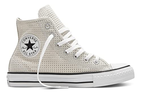 converse all star mujer grises altas