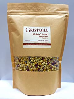 product image for Homestead Gristmill — Non-GMO, Chemical-Free, All-Natural Multi-Colored Popcorn (2 Pack)