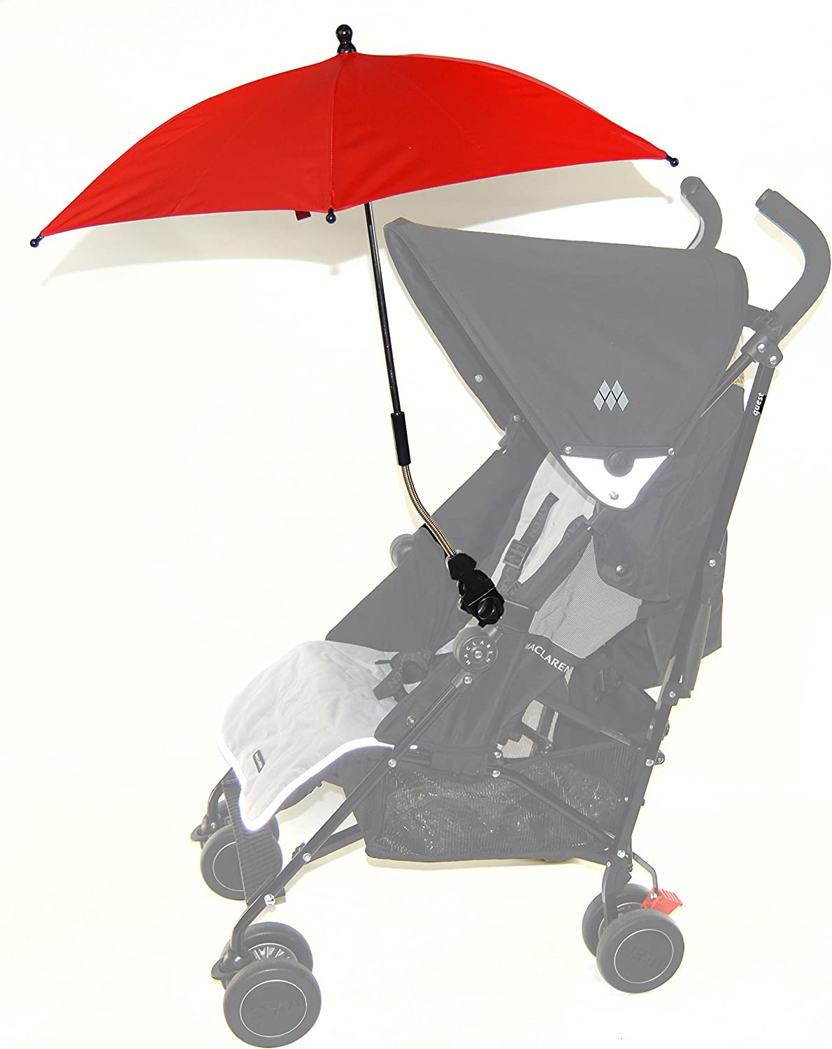 Baby Parasol compatible with Joie Chrome Red
