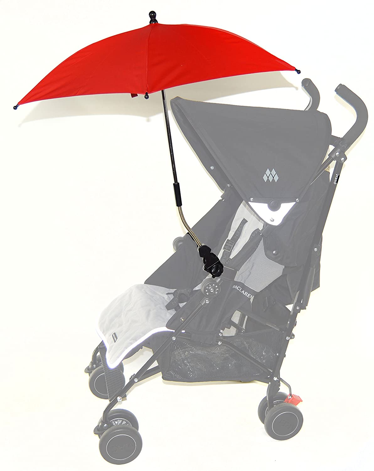 Baby Parasol Compatible with Uppababy Mesa Vista Cruz G-Luxe Lite Red