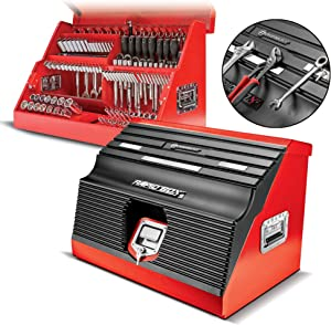 """Powerbuilt - 26"""" Rapid Box w/Magnetic Front Cover (Red), Shop Equipment, (642678)"""