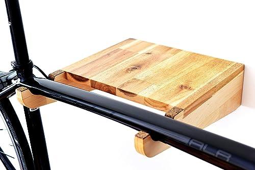 soporte bicicleta / accesorios bici / bicicleta / porta bicicleta / colgador bici pared / TEIXO ACACIA: Amazon.es: Handmade