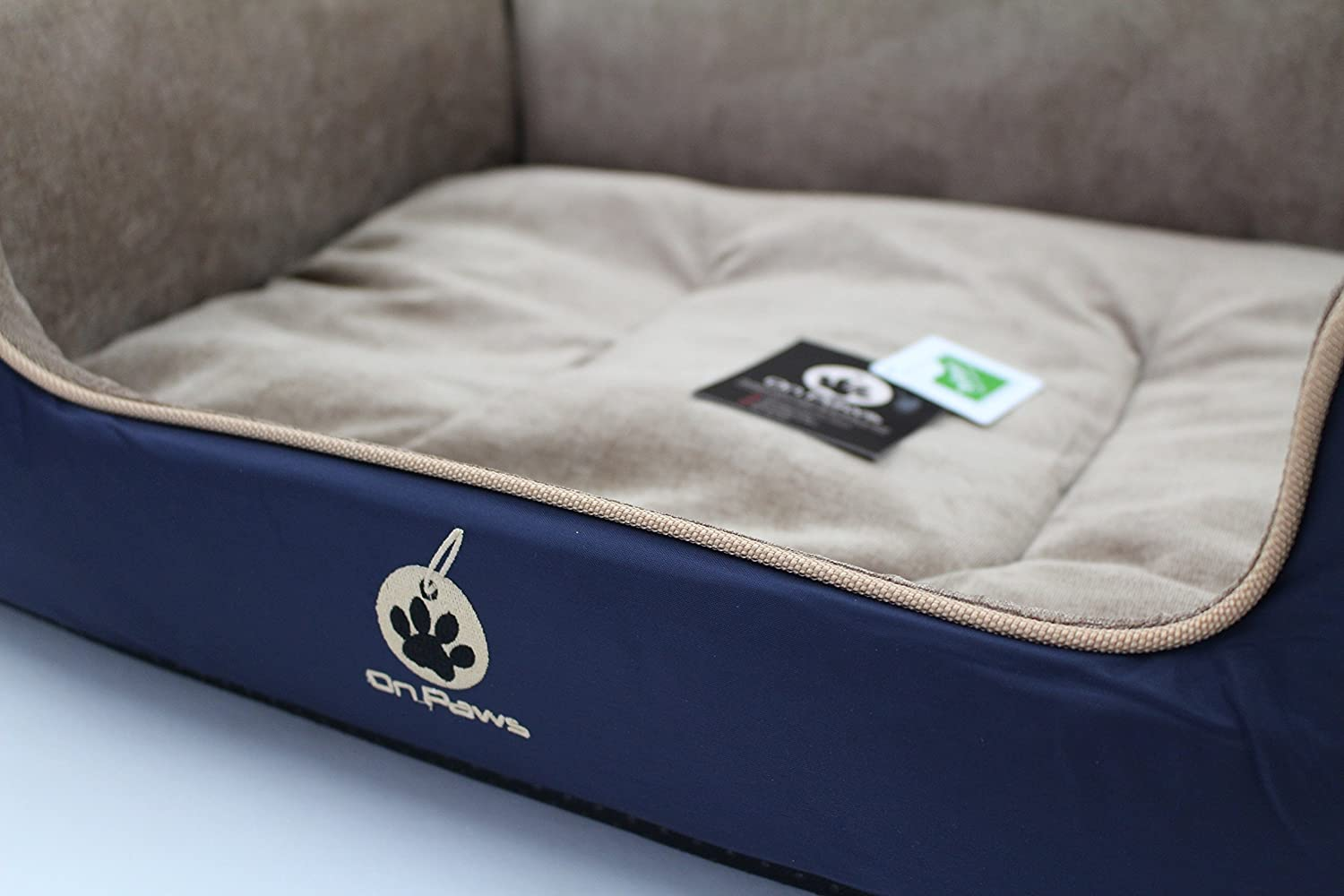 On Paws Sleep Well Lounger Azul Oscuro, tamaño XL (100 x 80 cm): Amazon.es: Productos para mascotas