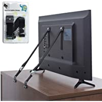The Baby Lodge TV and Furniture Anti Tip Straps - Safety Furniture Wall Anchors for Baby Proofing Flat Screen TV…